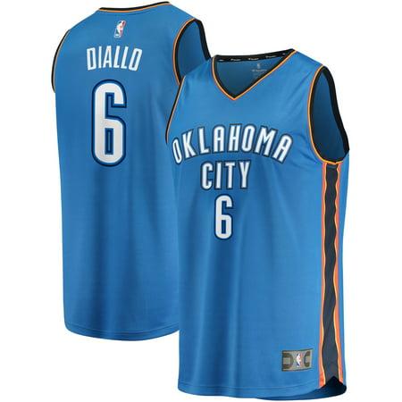 wholesale dealer 0da9d dc4bd Hamidou Diallo Oklahoma City Thunder Fanatics Branded Fast Break Replica  Jersey - Icon Edition - Blue