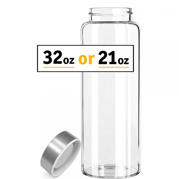 Kablo Borosilicate Glass Water Bottle 32 oz Walmartcom