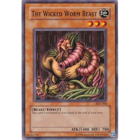 YuGiOh Starter Deck: Kaiba The Wicked Worm Beast