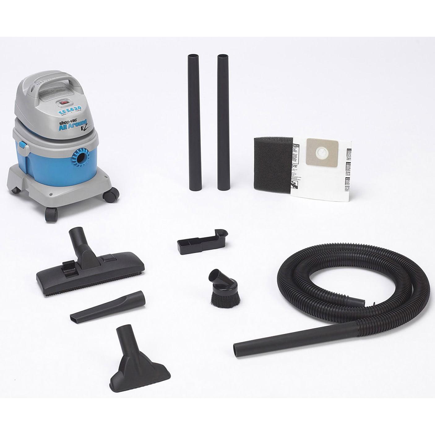 Shop Vac 589-51-00 1.5 Gallon 2 HP All Around EZ Wet & Dry Vac