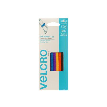 Velcro Plus Cable Wraps - VELCRO Brand ONE-WRAP 8