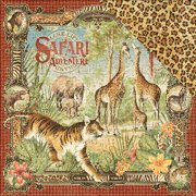 Safari Adventure Double-Sided Cardstock 12 Inch X 12 Inch-Safari A