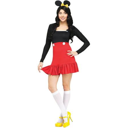 Miss Mikki Adult Halloween Costume