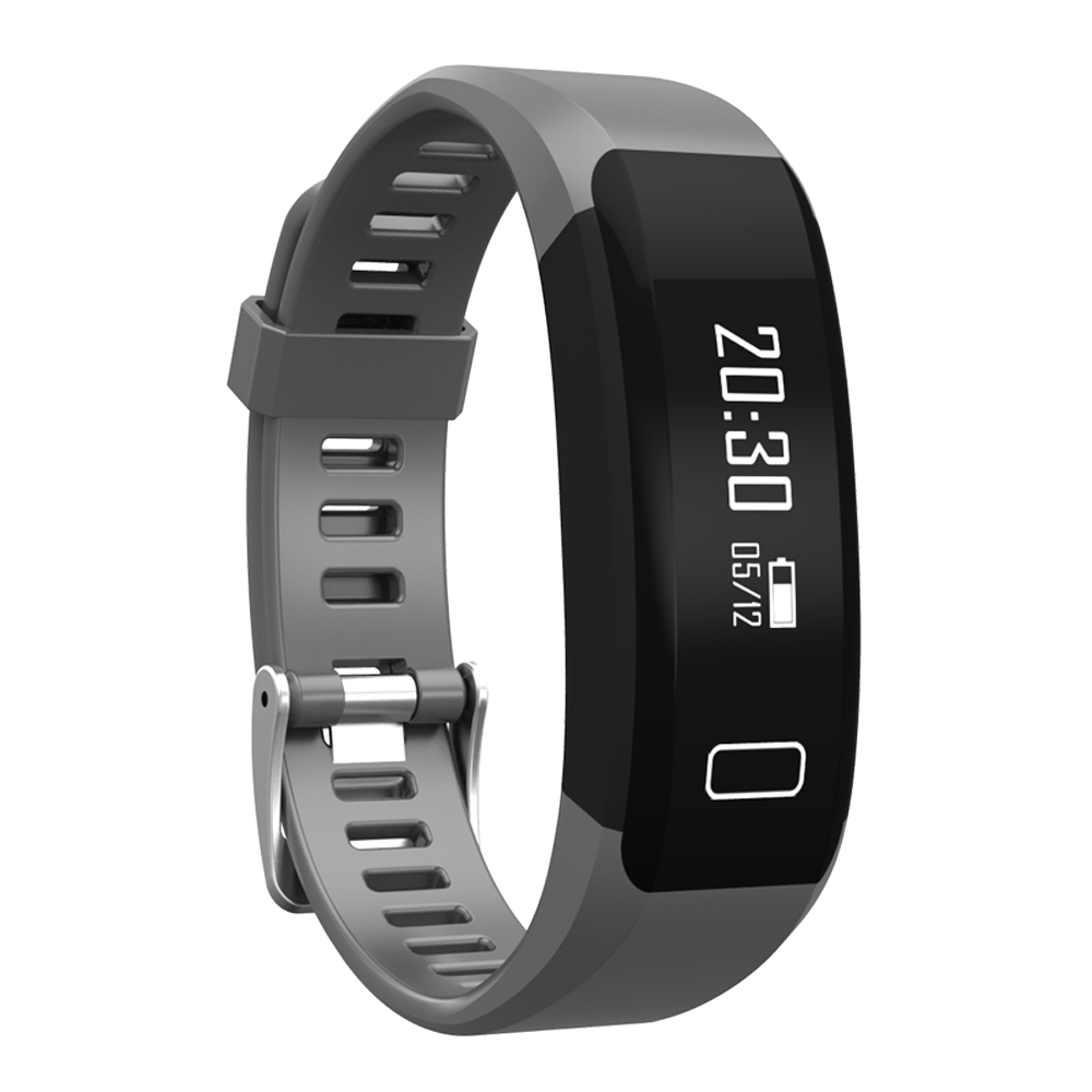 TechComm Y28 Water Resistant Fitness Activity Tracker Heart Rate Monitor