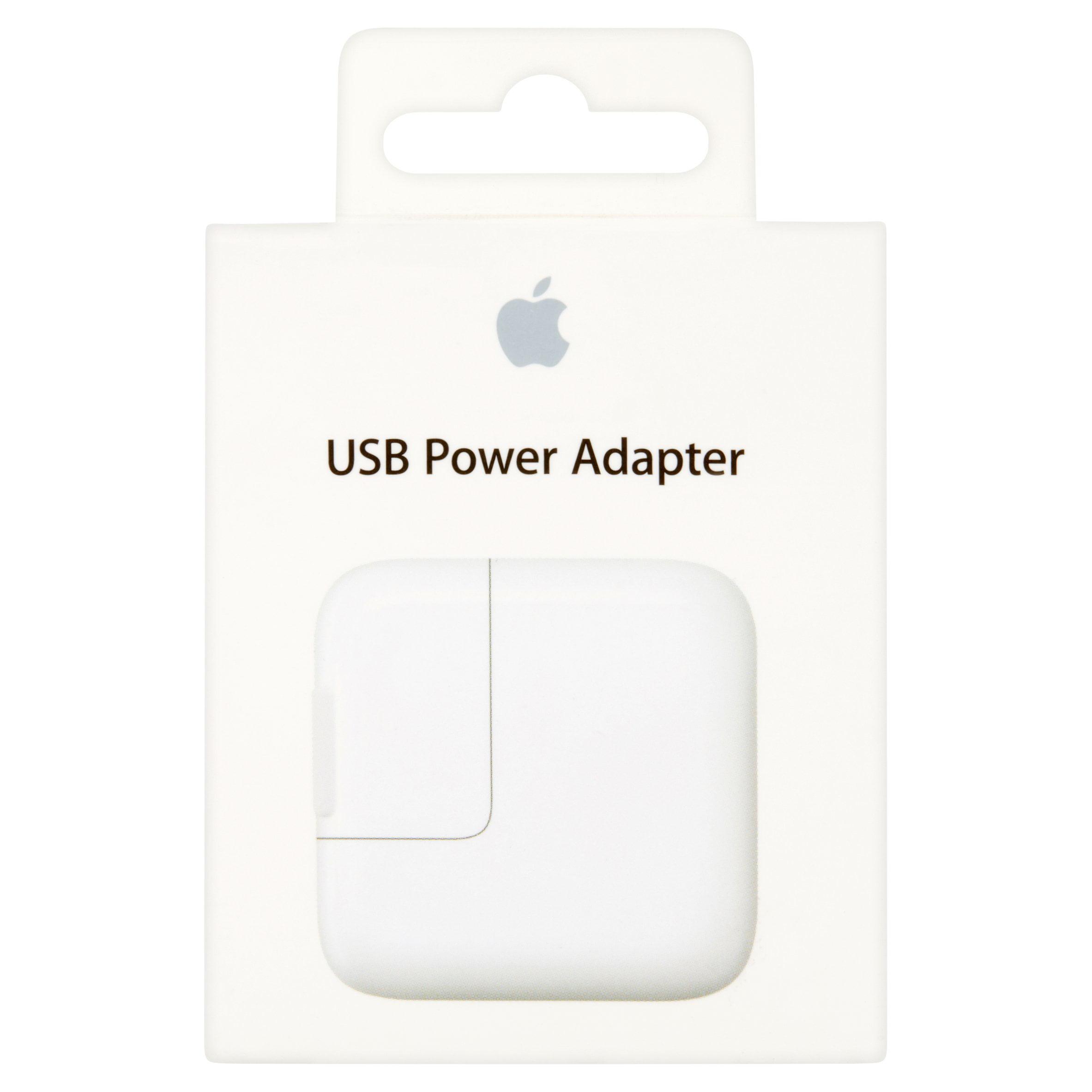 apple genuine oem 12w usb power travel wall adapter walmart com