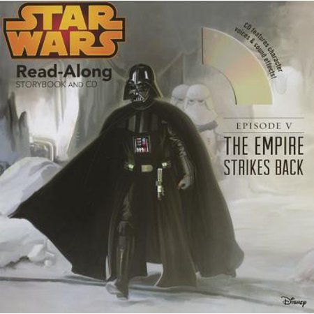 Star Wars: The Empire Strikes Back Read-Along Storybook and CD (Star Wars Read Along Cassette)