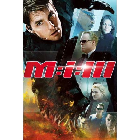 Mission: Impossible III POSTER Movie E (Mission Impossible Poster)