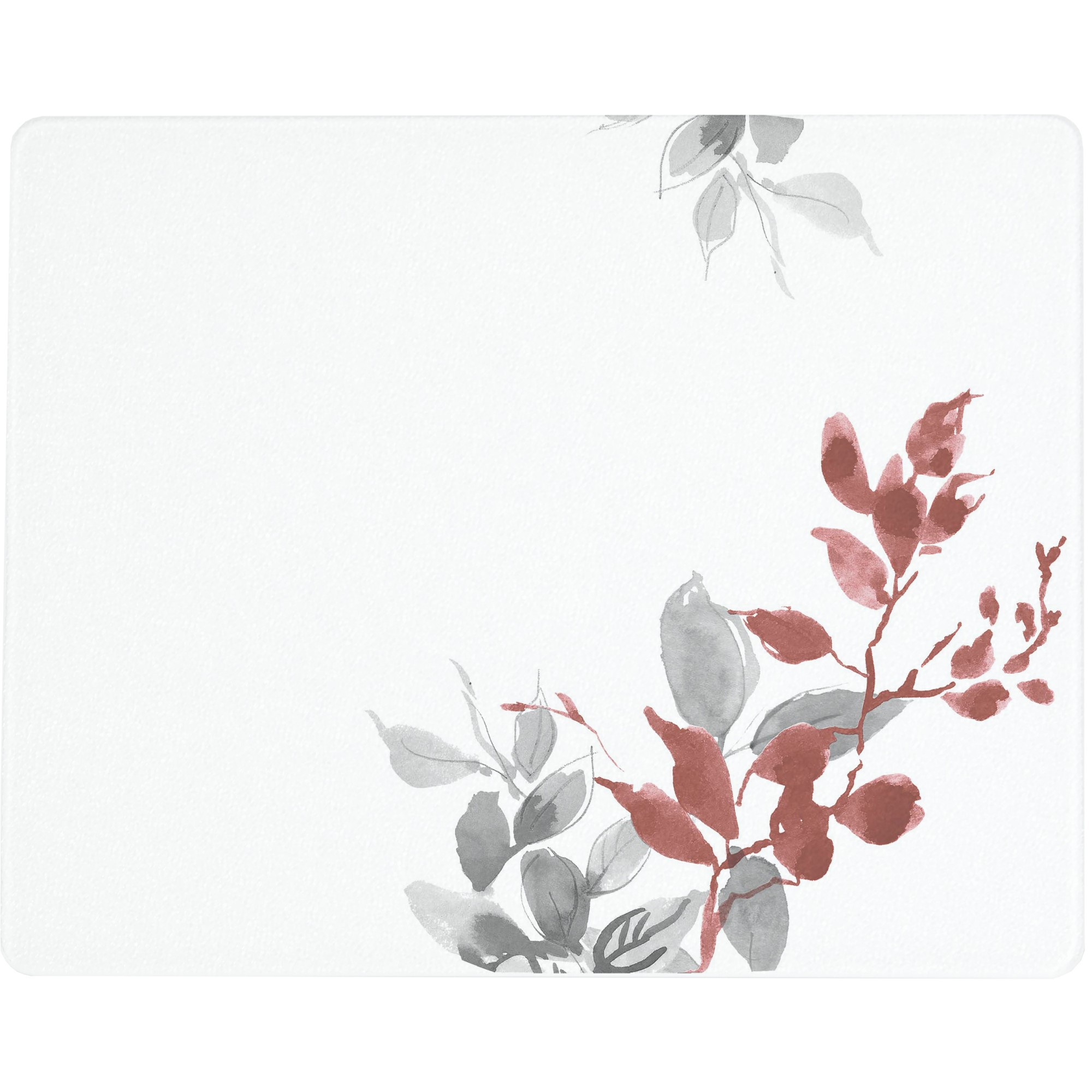 Corelle Kyoto Leaves 20 X 16 inch Counter Saver Tempered Glass Cutting Board, 92016KYOH