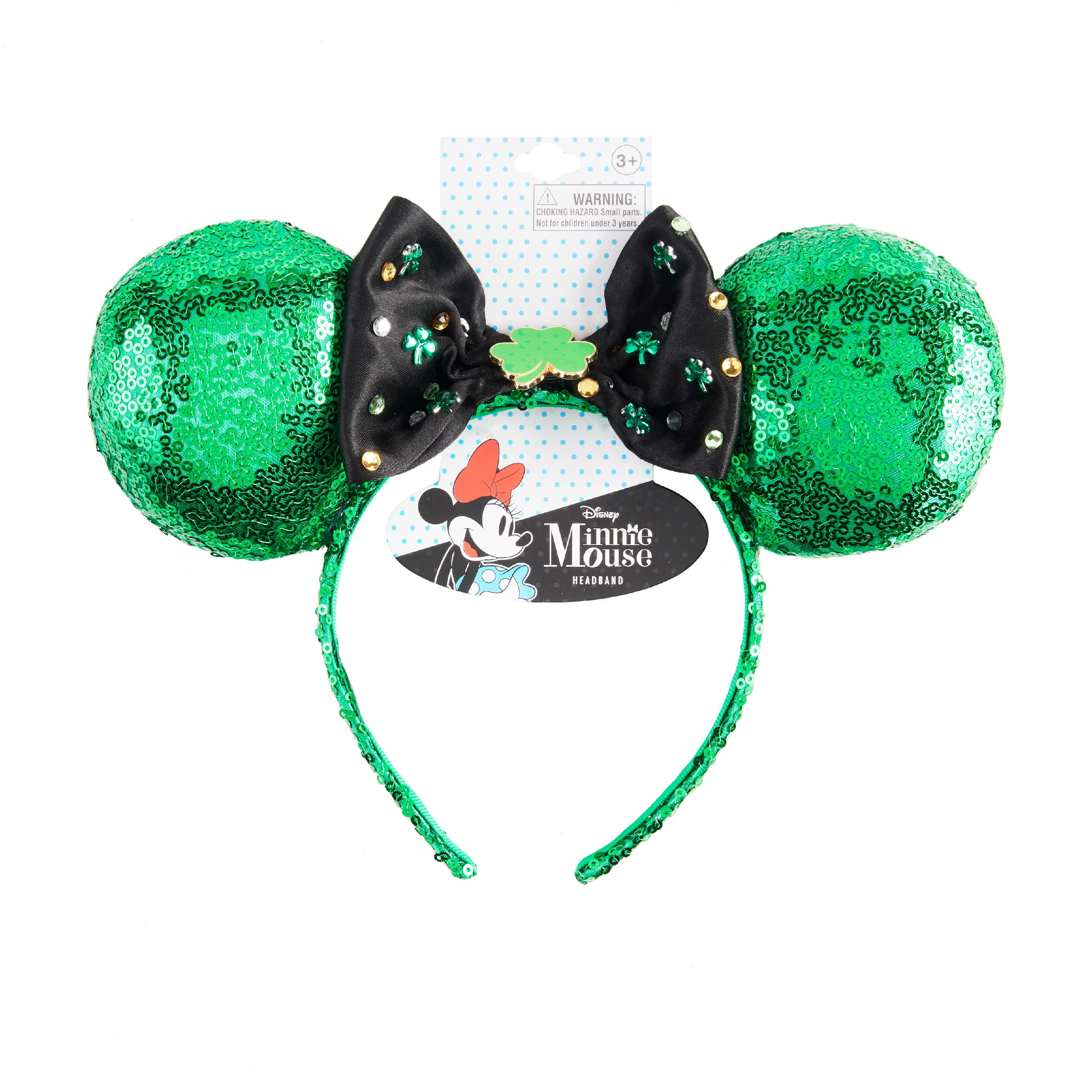 Disney Minnie Mouse Ears Headband St Pat – Walmart Inventory Checker ... fa6cc12395c