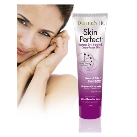 Dermasilk Skin Perfect - Anti Aging Moisturizer Cream Diminishes Wrinkles on Face, Neck & Body 6.5 Fl Oz Anti Aging Skin Care System