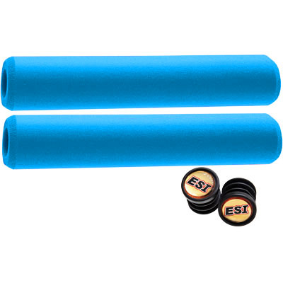 ESI 34mm Extra Chunky Silicone Grips: Orange
