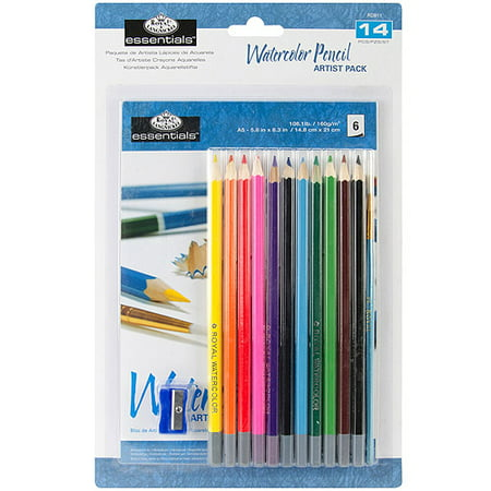 essentials artist pack watercolor pencil walmart com