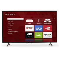 "TCL 40"" Class FHD (1080P) Roku Smart LED TV (40S305)"