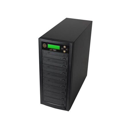 Acumen Disc 1 to 7 Multiple DVD CD Optical Media Copier Duplicator Machine with Built-In 500GB Hard Disk Drive for HDD to Disc Copies (Standalone Audio Video Copy Tower, Disc Duplication Device) (Key Duplicator Machine)