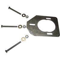 LEE'S SS BACKING PLATE FOR 30 15 0 DEGREE HEAVY ROD HOLDERS