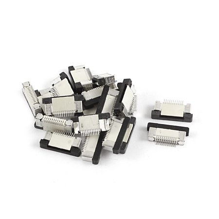 Unique Bargains 20Pcs Bottom Port 11Pin 0.5mm Pitch FFC FPC Ribbon Sockets (Bottom Ports)