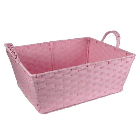 how to make paper basket with handle