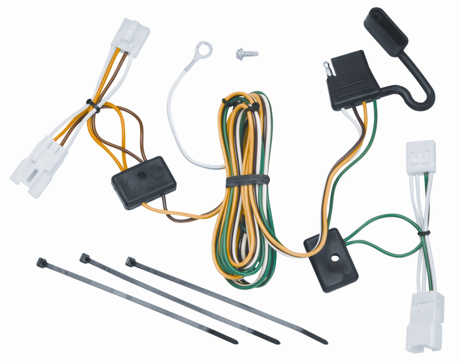 Kia Trailer Wiring Harness Electrical Diagrams 2011 Sorento Location Vehicle To Connector 118452 For 07 08