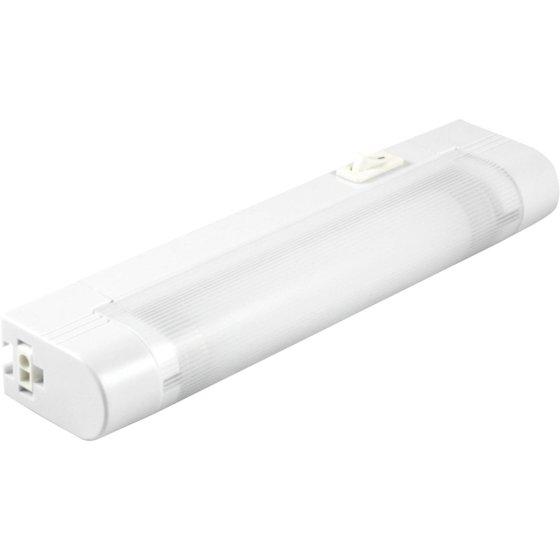 GE Slim Line 8-Inch Fluorescent Light Fixture, Plug-In