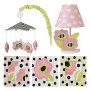 Cotton Tale Designs Poppy 5 Piece Nursery Décor Set