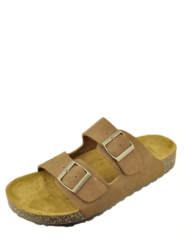 George Men's Buckle Strap Sandal