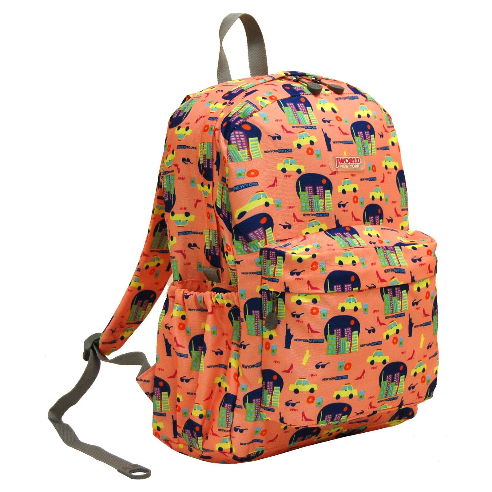 J World New York Oz Backpack, New York, One Size