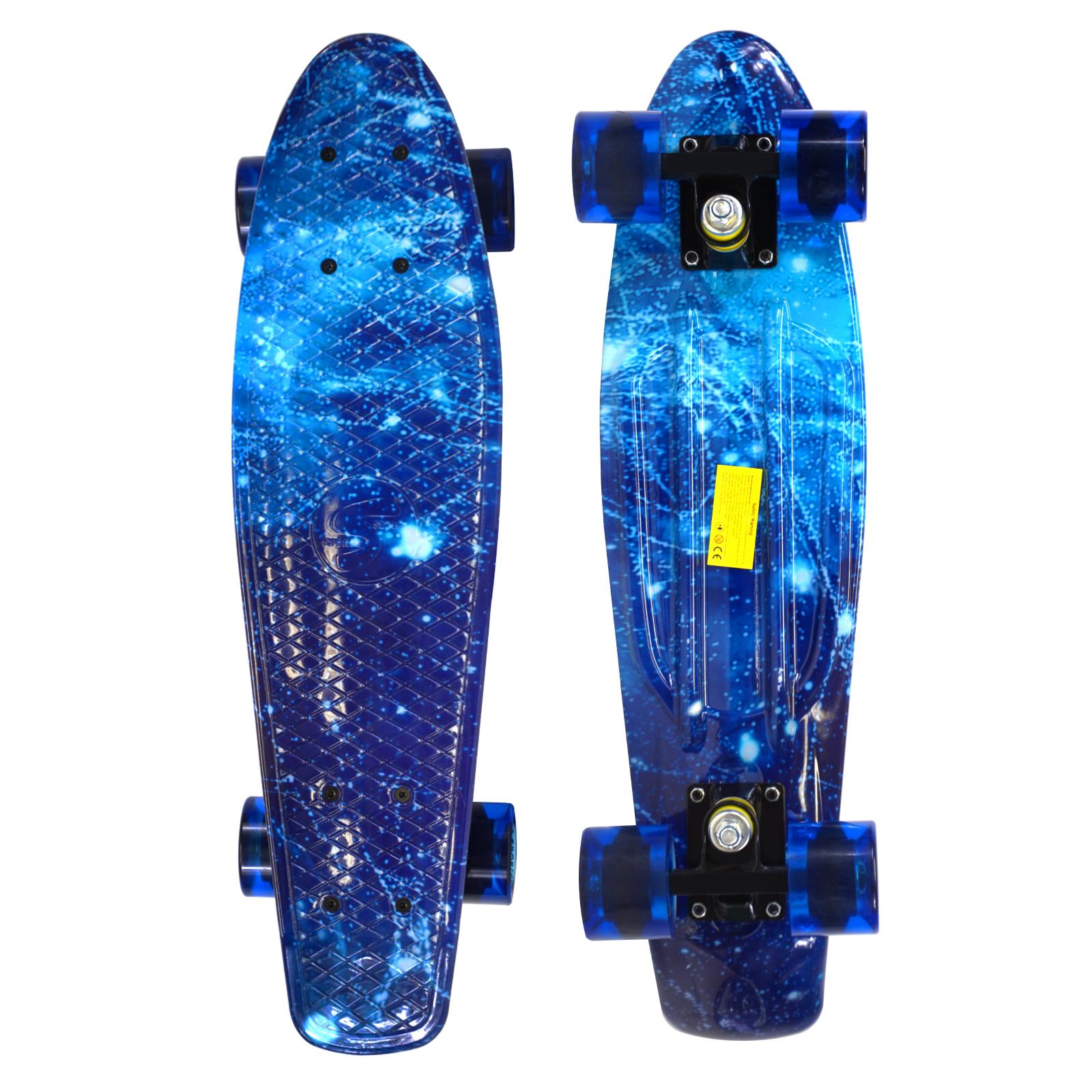 Skateboard Complete 22 inches Galaxy Board Cruiser