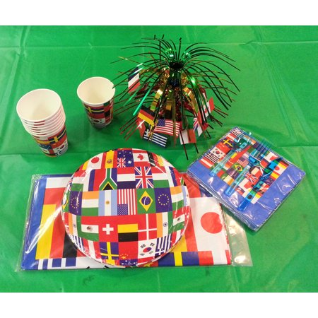 International flag party supply tablewares decorating for Table decor international inc