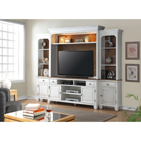 Side Entertainment Pier - Legends Furniture Camden 68 in. TV Console with Optional Wall Hutch and Piers