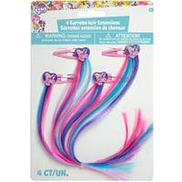 My Little Pony Rainbow Hair Clip Party Favors, 4ct