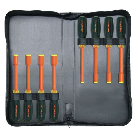 - Westward Insulated Nut Driver Set, 5UFY5