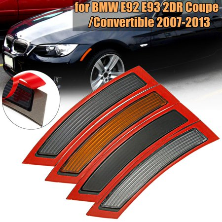 2Pcs Front Bumper Reflector Side Marker For BMW E92 E93 3 Series 2DR Coupe 2007-2013 2006 Bmw Z4m Coupe