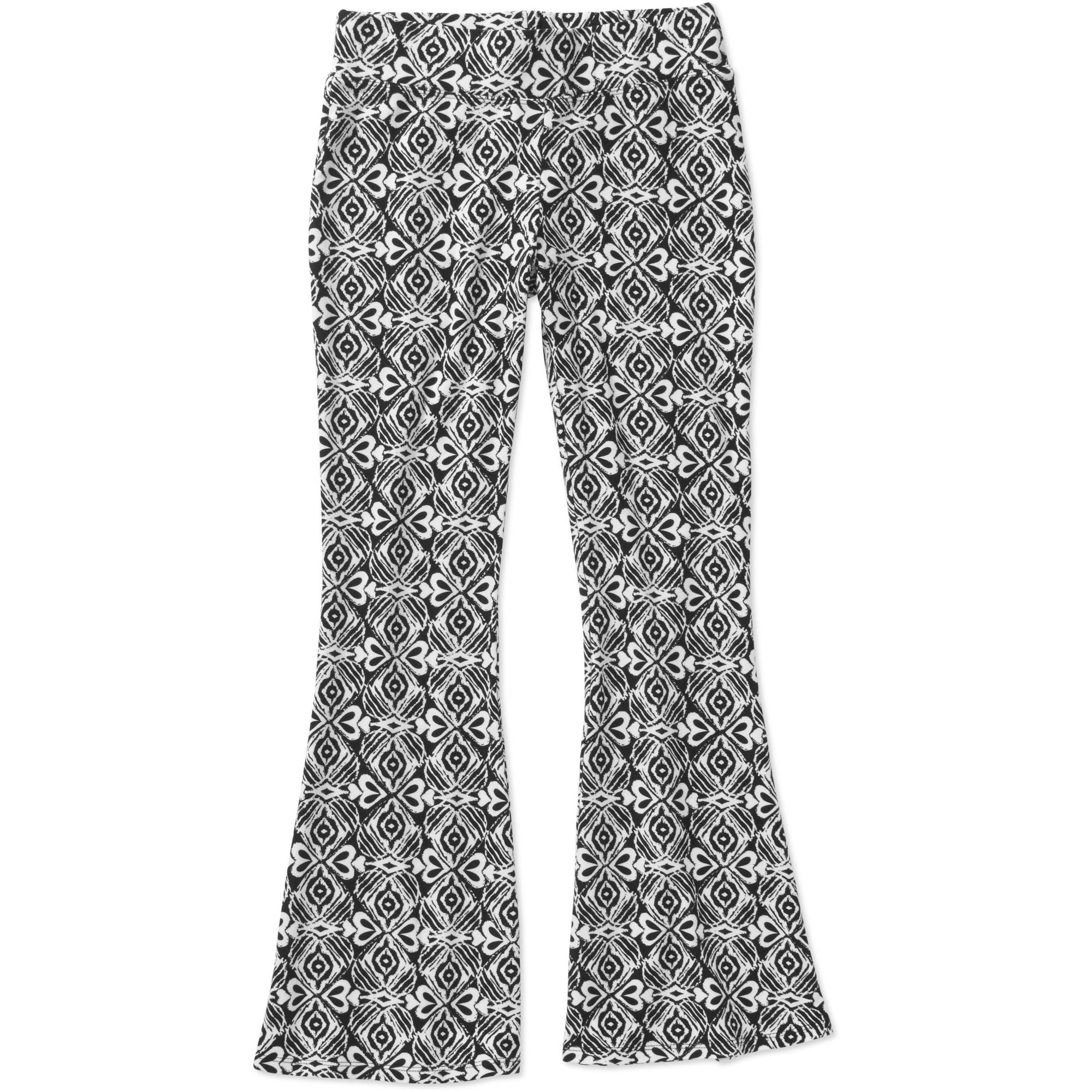 Faded Glory Girls' Peached Flare Soft Pants