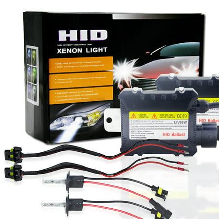 2pcs/set 55W H1 HID Xenon Headlight Bulbs Conversion KIT 3000-12000K for (Conversion Kit H1 Lights Bulbs)
