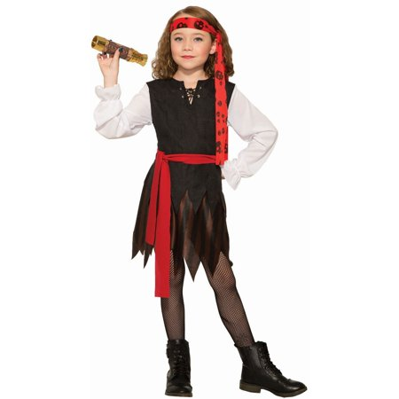 Halloween Renegade - Pirate Girl Child Costume - Pirate Baby Girl Costume