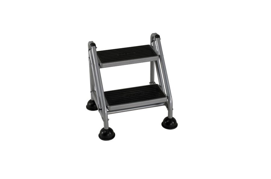 2 Step Rolling Step Ladder Walmart Com Walmart Com