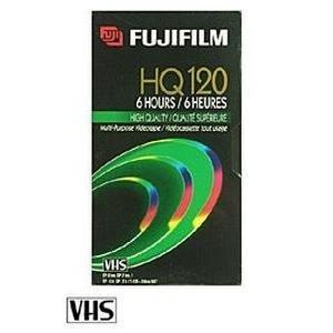 Fujifilm 4PK HQ T-120 VHS VIDEO CASSETTE ( 23021124 )