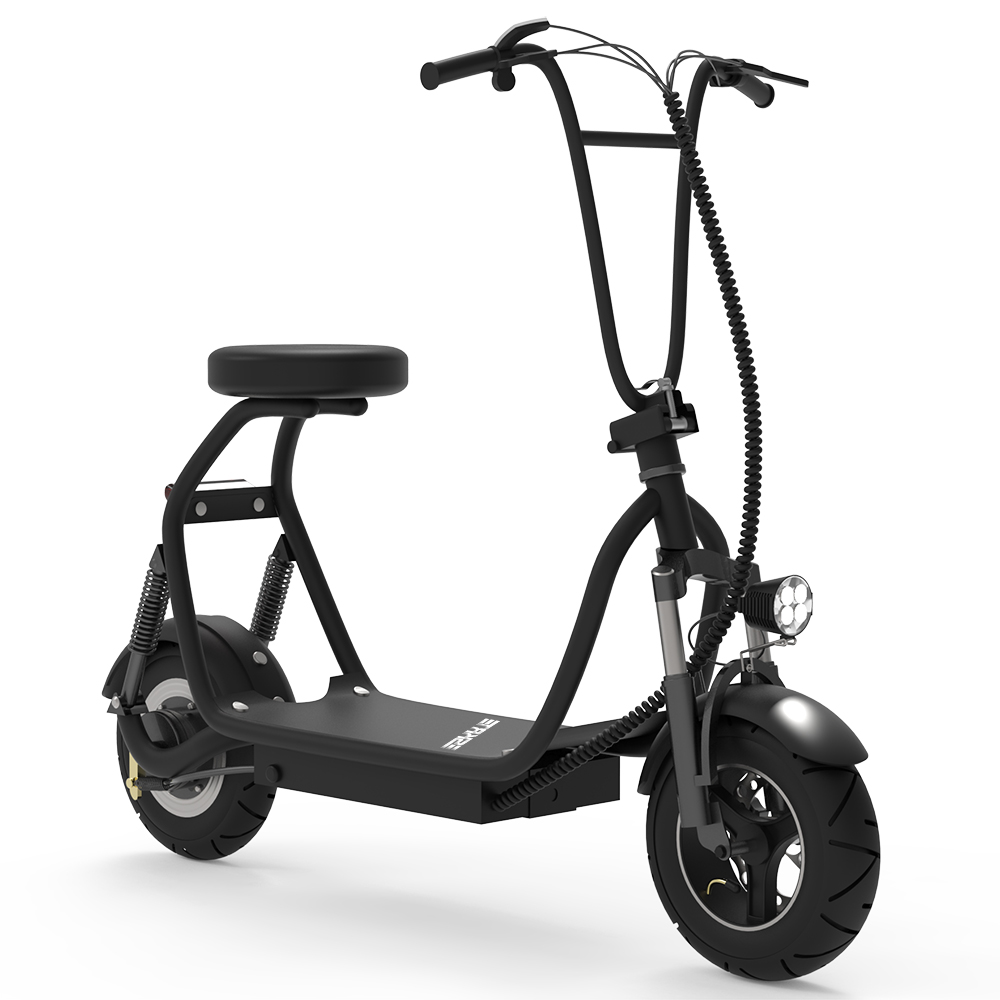 SKRT Electric Scooter 350W 48V 18.6 Miles Long-range Battery Foldable Easy Carry Portable Design, Adult Electric Scooter Up to 18 MPH Commuter Scooter Black