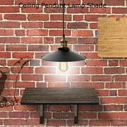 Yosoo Vintage Industrial Ceiling Pendant Lamp Shade Metal Lampshade Hanging Lighting Fixtures Decor, Industrial Lamp Shade, Pendant Lamp Shade