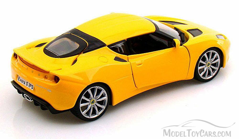 LOTUS EVORA S 1:24 scale diecast model miniature die cast cars yellow