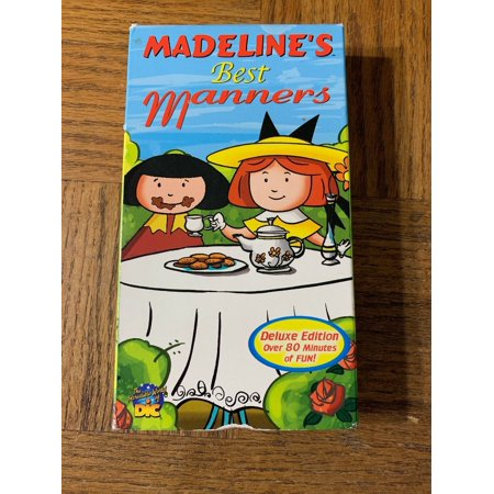 Madeline's Best Manners VHS (Best Vhs To Computer)