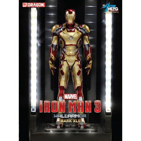 Iron Man 3 - Hall of Armor, Mark XLII New (Iron Man Armor Replica)