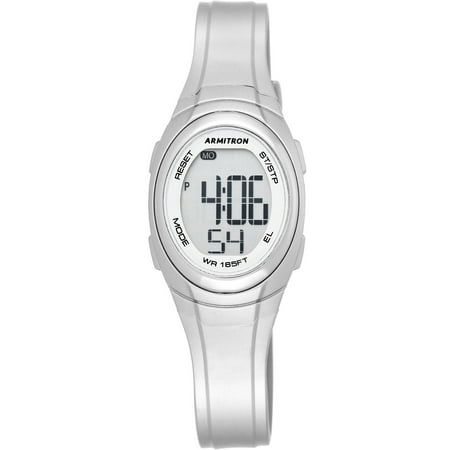 Sport Watch, Metallic Silver - Silver Girls Watch