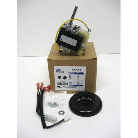 65569 furnace draft inducer blower motor for carrier for Furnace inducer motor replacement