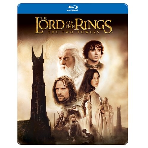 The Lord Of The Rings: The Two Towers (Blu-ray) (Steelbook Packaging) (Widescreen)
