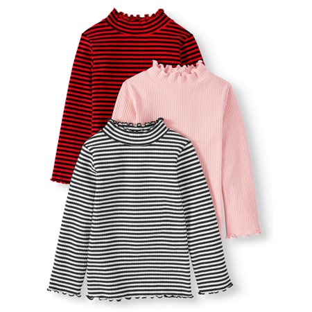 Garanimals Toddler Girls' Mock Neck Tops, covid 19 (One Christian Toddler Shirt coronavirus)