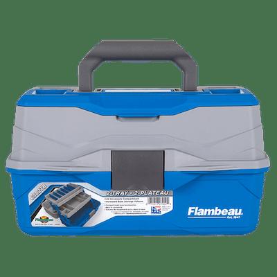 Flambeau Outdoors 2 Tray Tackle Box by Flambeau Inc