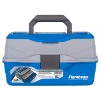 Deals on Flambeau Outdoors 2 Tray Tackle Box