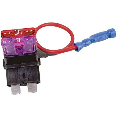 Battery Doctor 30003 Tapa Circuit 16-Gauge 10-Amp Fuse Holder Slot, ATO/ATC