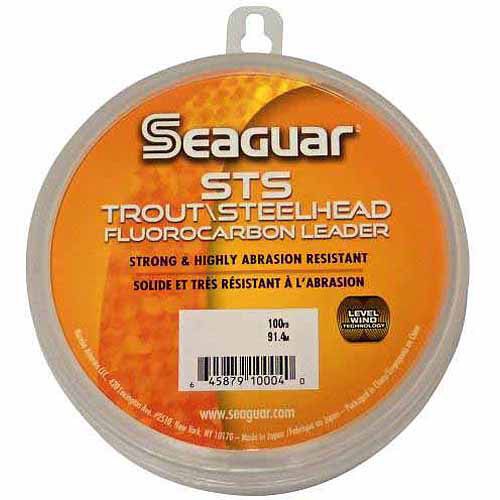 Seaguar STS Trout/Steelhead Fluorocarbon Leader, 100 Yards
